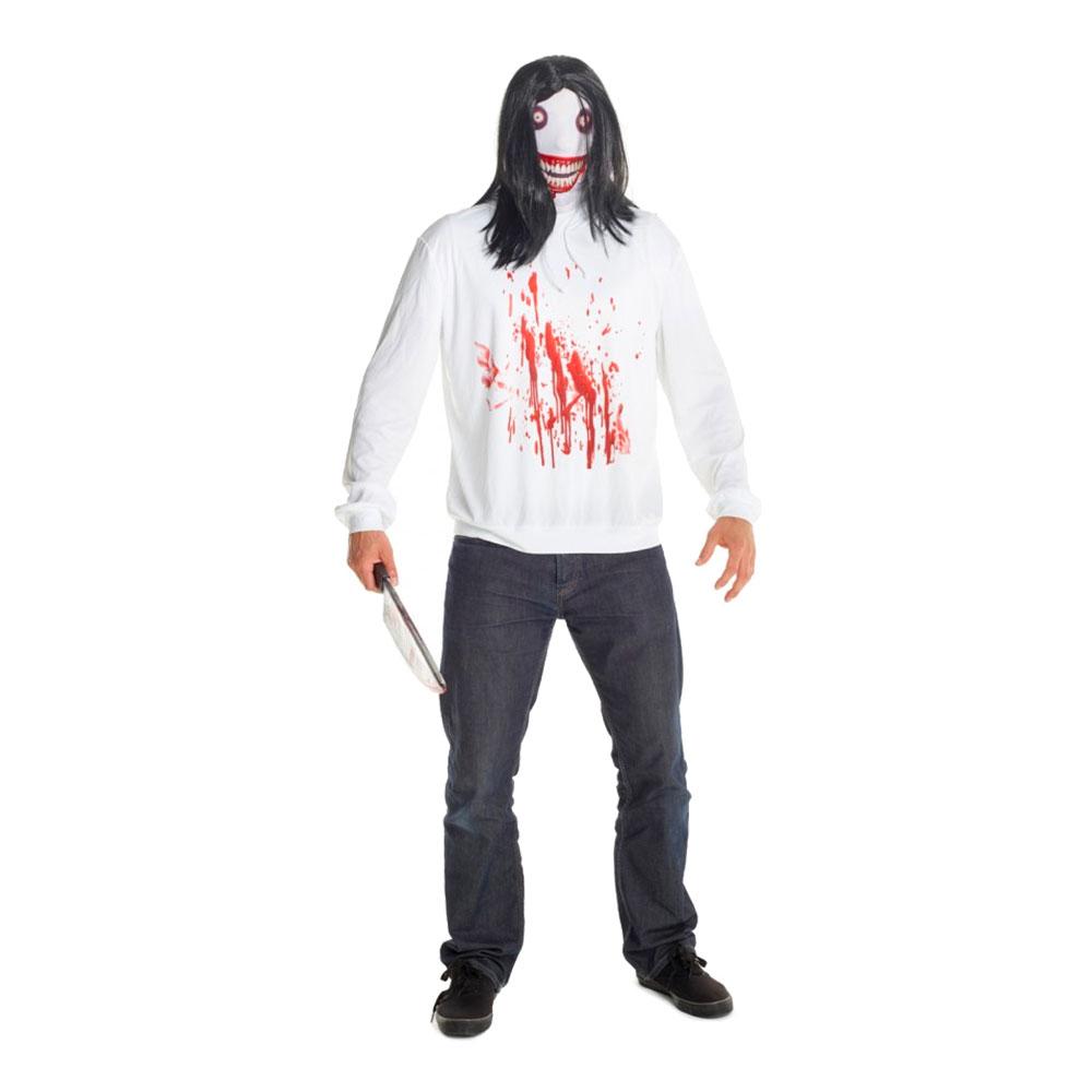 Jeff the Killer Maskeraddräkt - Standard