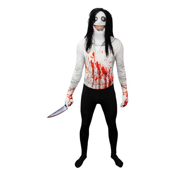 Jeff the Killer Morphsuit - Medium