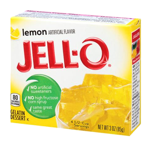 Jell-O Citron - 1-Pack