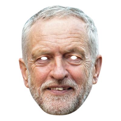 Jeremy Corbyn Pappmask