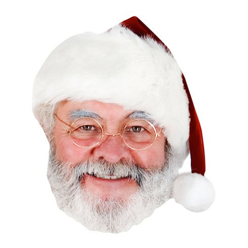 Jultomte Pappmask - 1-pack