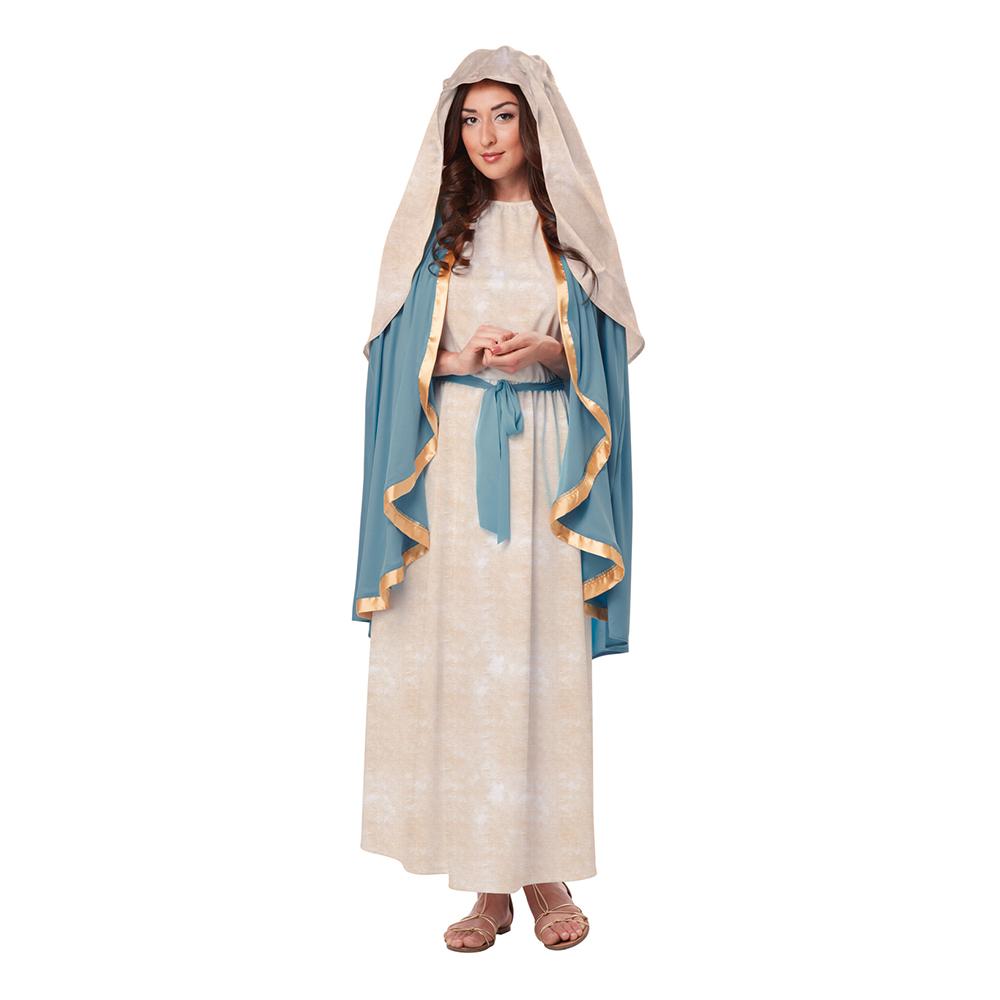 Jungfru Maria Klassisk Maskeraddräkt - Small