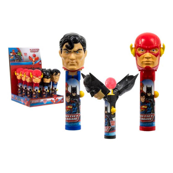 Justice League Pop Ups Lollipop