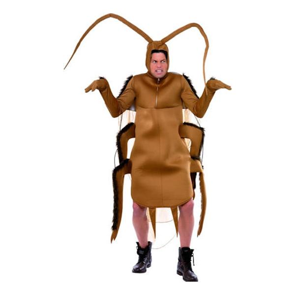 Kackerlacka Maskeraddräkt - One size