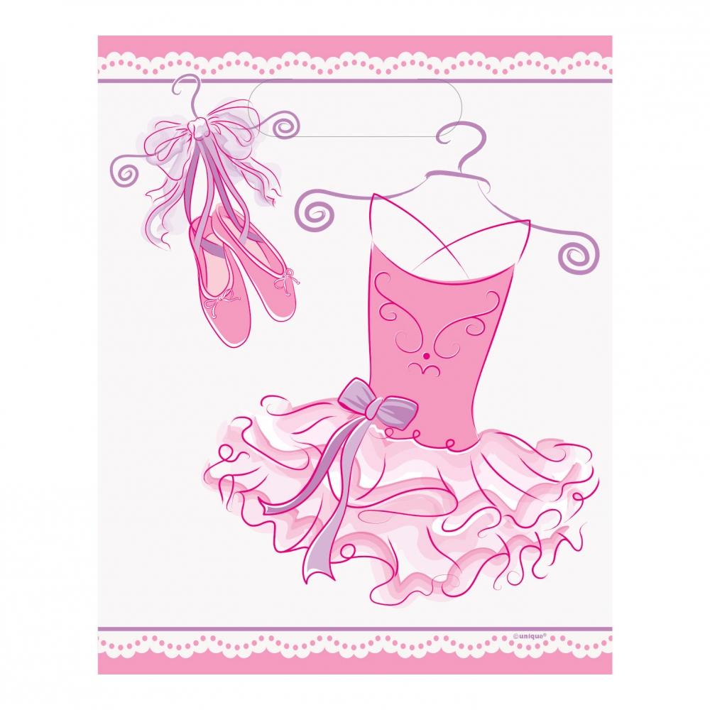 Kalaspåsar Ballerina - 8-pack
