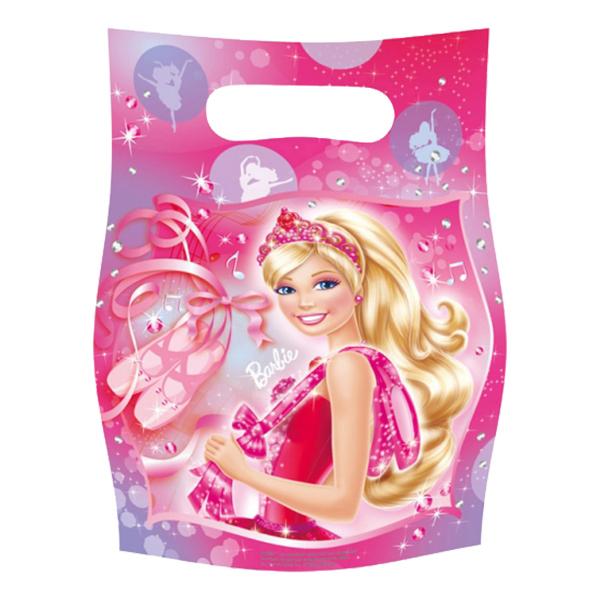 Kalaspåsar Barbie Ballerina - 6-pack