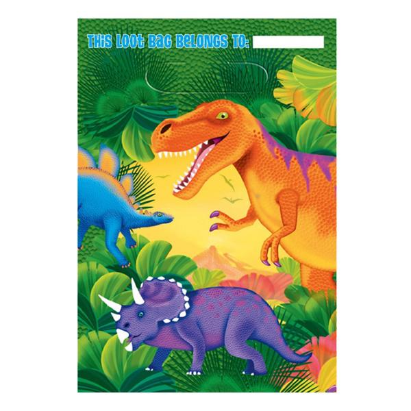 Kalaspåsar Dinosaurier - 8-pack