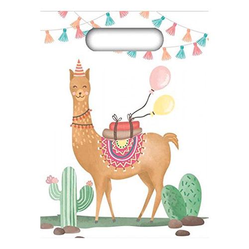 Kalaspåsar Lama Party - 6-pack