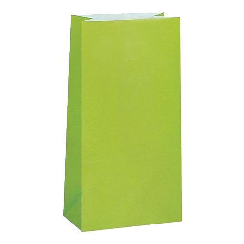 Kalaspåsar Limegrön - 12-pack