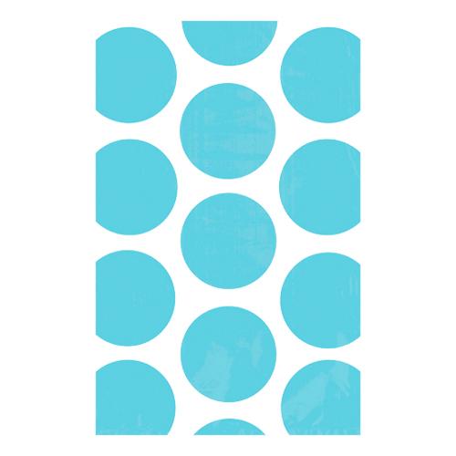 Kalaspåsar Polka Dot Ljusblå - 10-pack