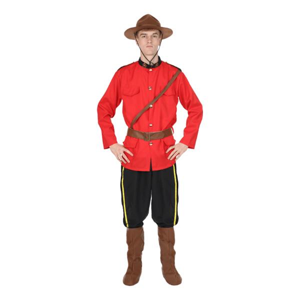 Kanadensisk Polisuniform Maskeraddräkt - Standard