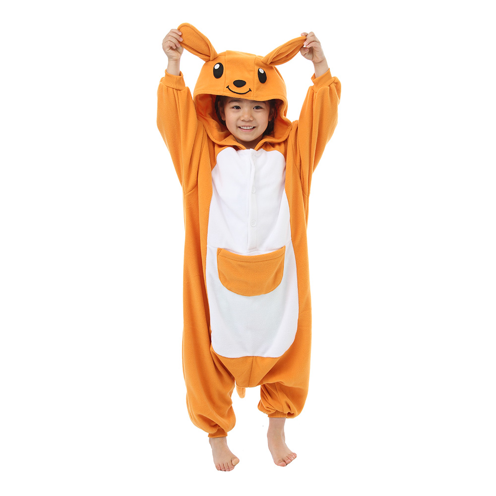 Känguru Barn Kigurumi - Medium