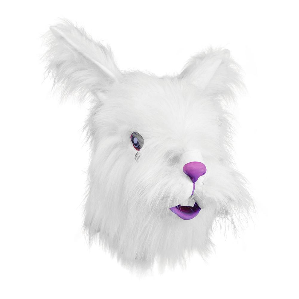 Djurmasker - Kaninmask med Päls