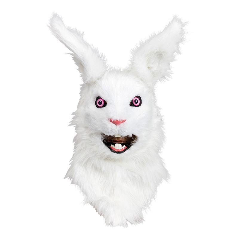 Kaninmask med Rörliga Käkar Deluxe - One size