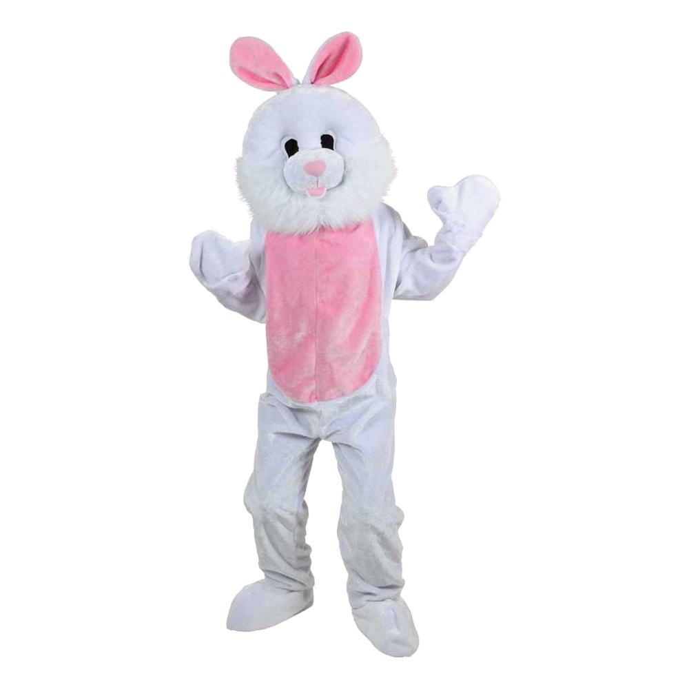 Kaninmaskot Deluxe Maskeraddräkt - One size