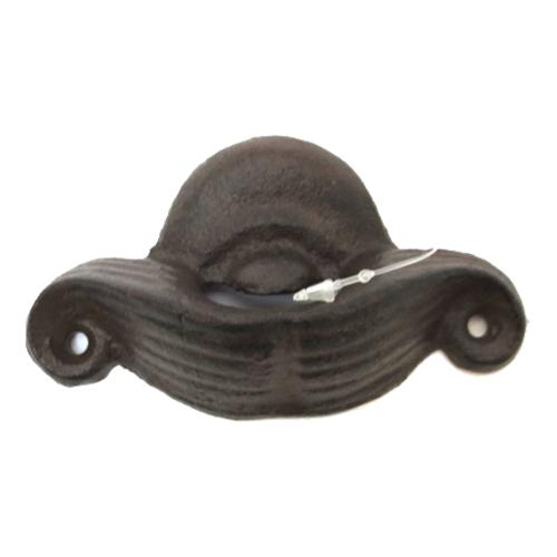 Kapsylöppnare Väggmonterad Mustasch