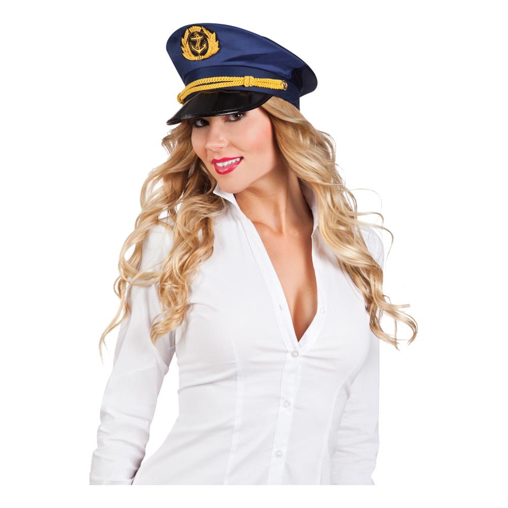 Kaptenskvinna Hatt - One size