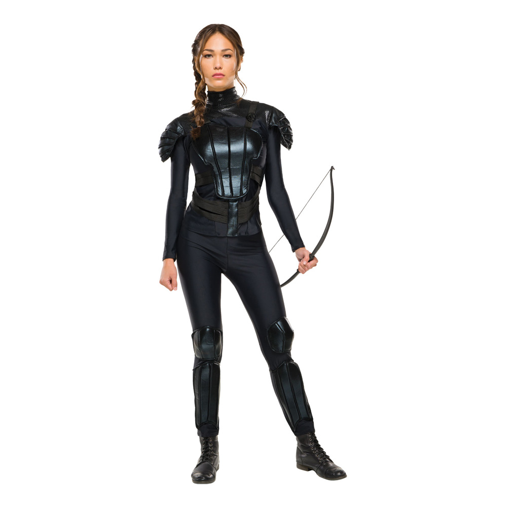 Katniss Rebell Maskeraddräkt - X-Small