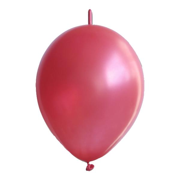 Kedjeballonger Röda - 10-pack