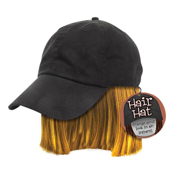Keps med Hår - One size