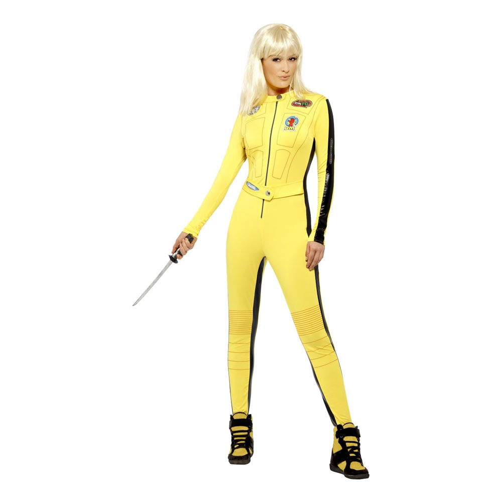 Kill Bill Maskeraddräkt - Medium