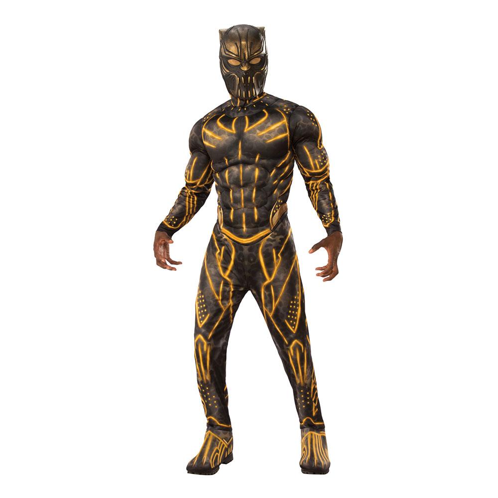 Killmonger Deluxe Maskeraddräkt - Standard