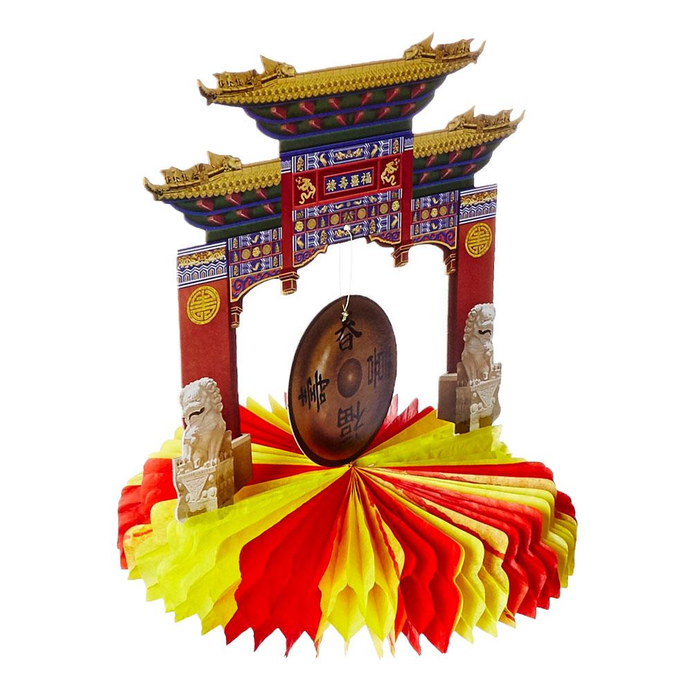 Kinesiskt Nyår Bordsdekoration
