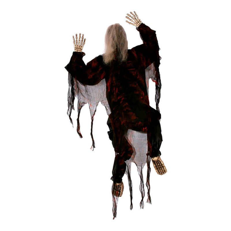 Klättrande Zombie Prop - Svart