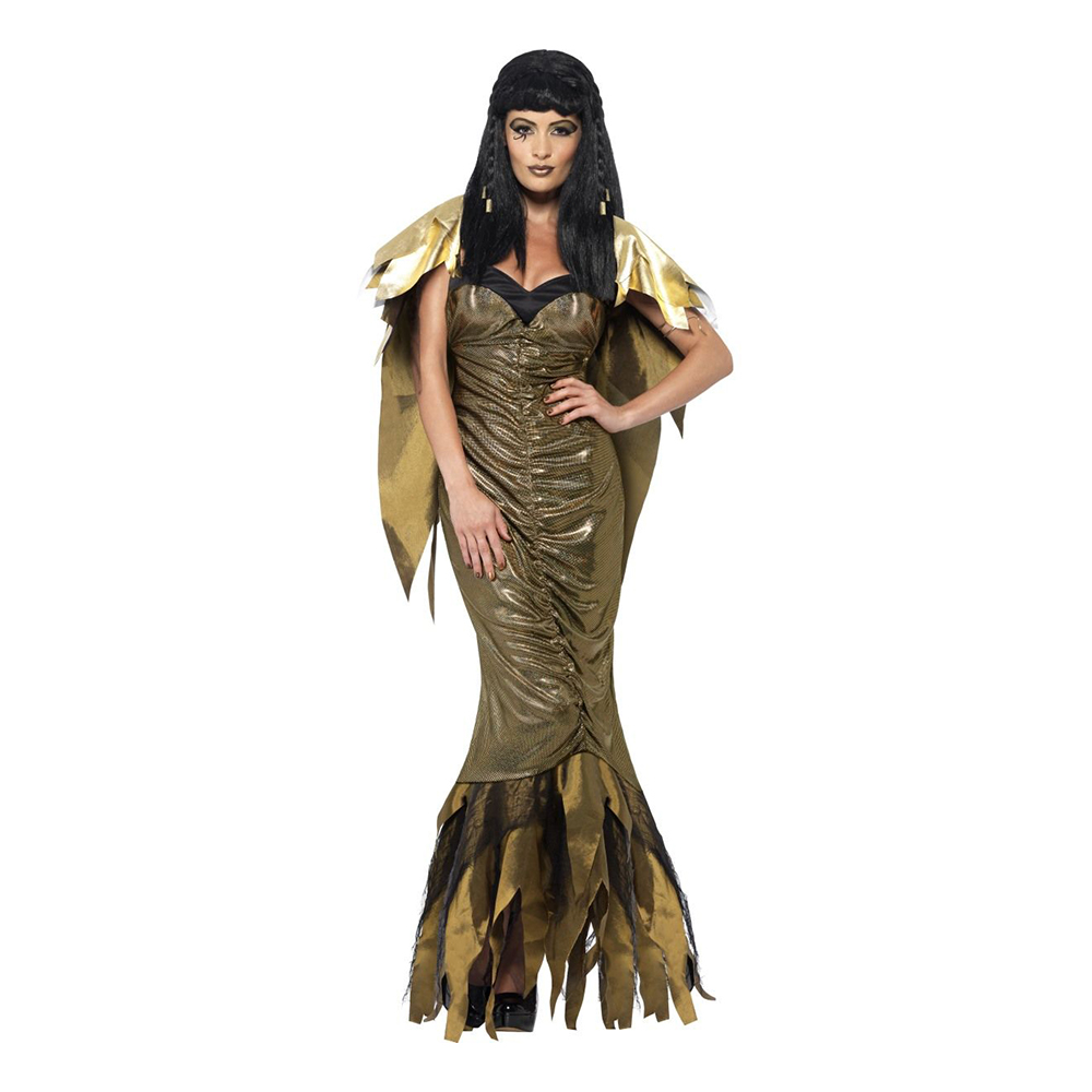 Kleopatra Guld Maskeraddräkt - Large