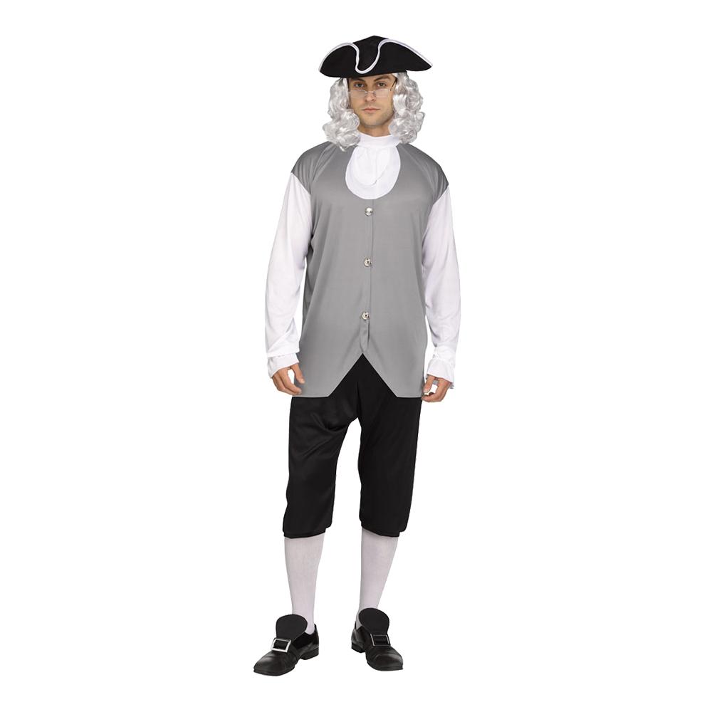 Kolonial Man Maskeraddräkt - One size