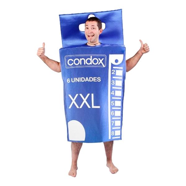 Kondomer Maskeraddräkt - One size