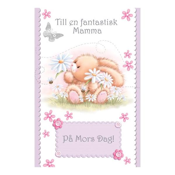 Kort Mors Dag Till En Fantastisk Mamma