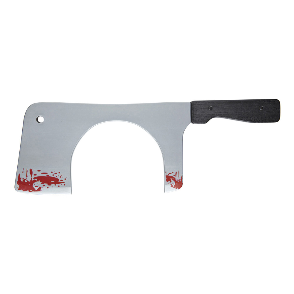 Köttkniv genom Huvudet