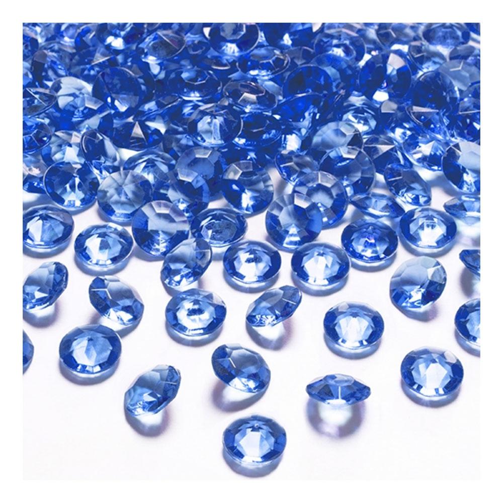 Kristalldiamanter Blå - 100-pack