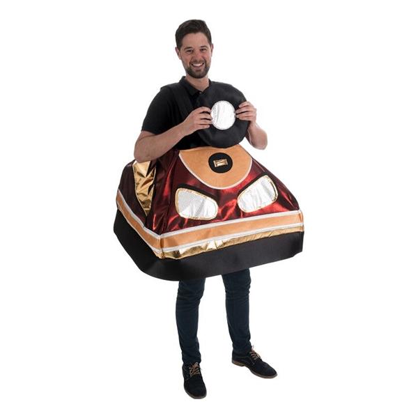 Krockbil Maskeraddräkt - One size