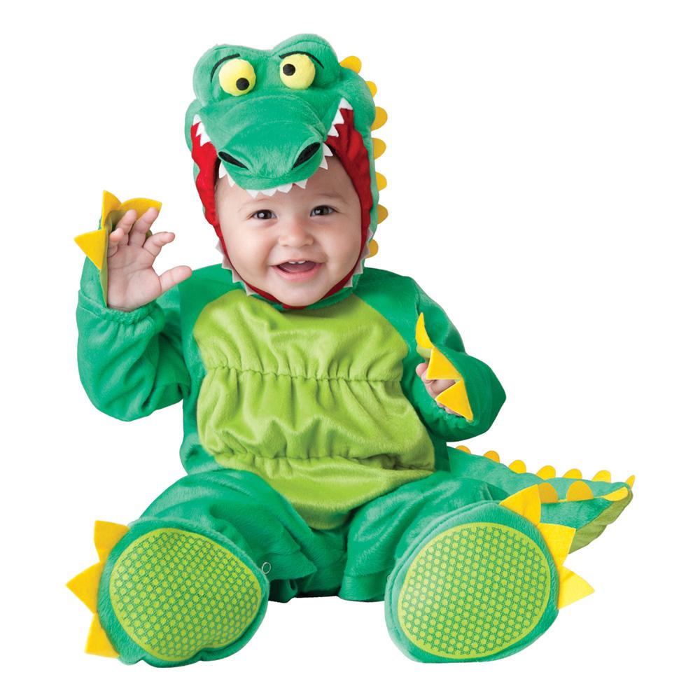 Krokodil Bebis Maskeraddräkt - Small