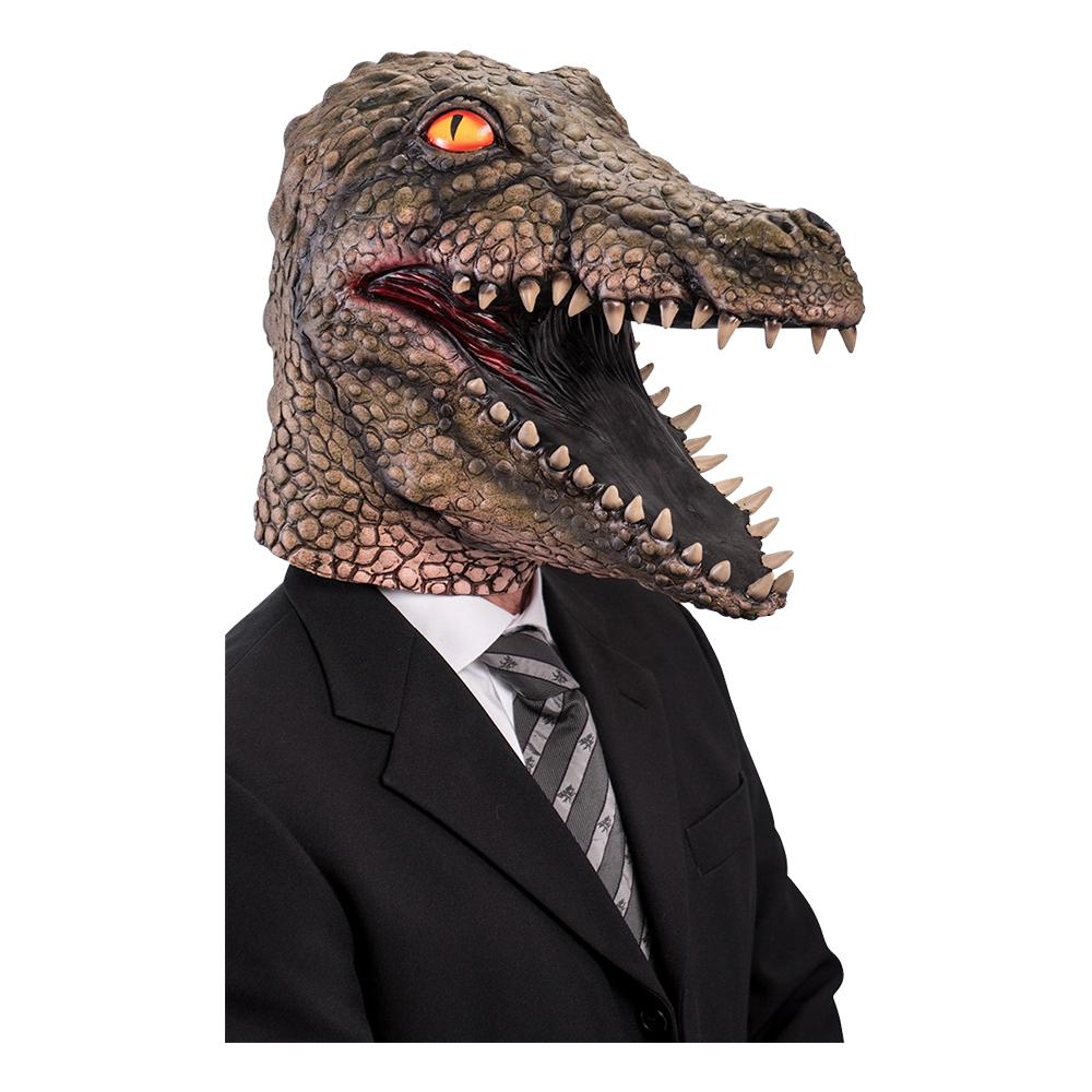 Krokodil Latexmask - One size