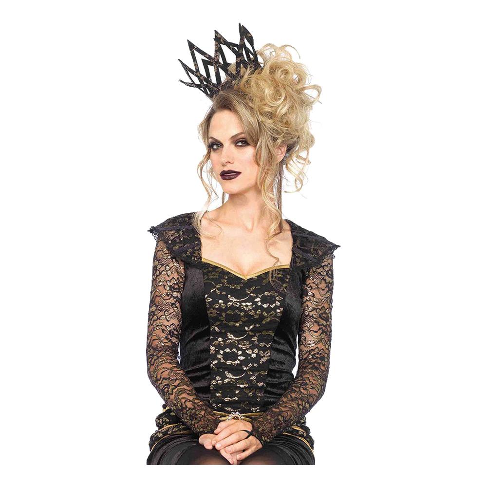 Krona Svart/Guldmetallic Deluxe - One size