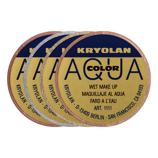 Kryolan Aquacolor Metallic - Guld