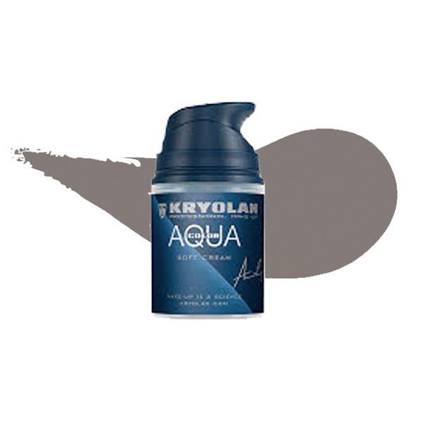 Kryolan Aquacolor Soft Cream - Silver