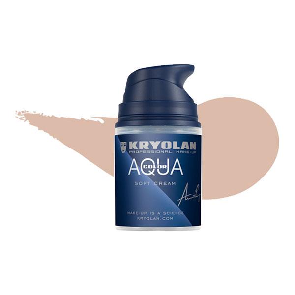 Kryolan Aquacolor Soft Cream - 1W