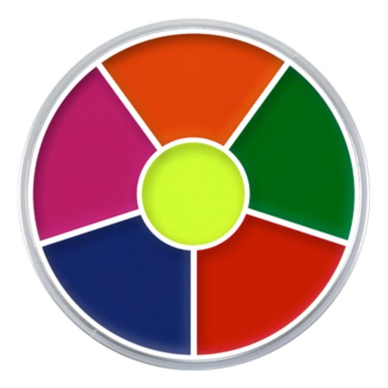 Kryolan UV Supra Multi Color Palett