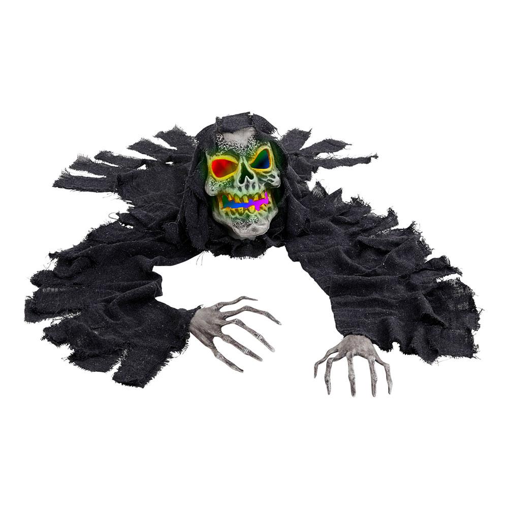 Krypande Skelett LED Prop
