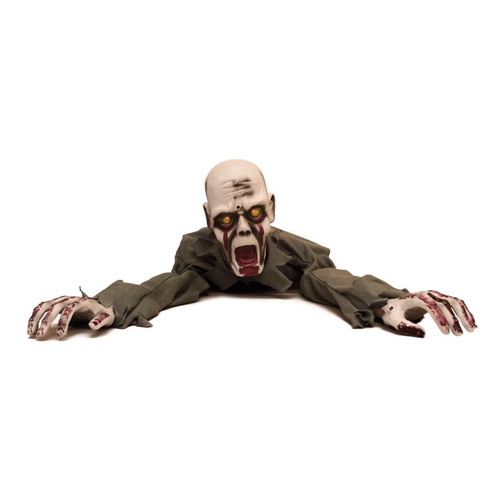 Krypande Zombie med Ljud & Ljus