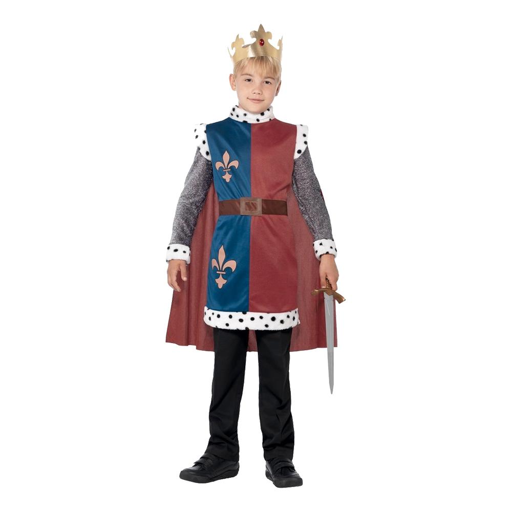 Kung Arthur Barn Maskeraddräkt - Small