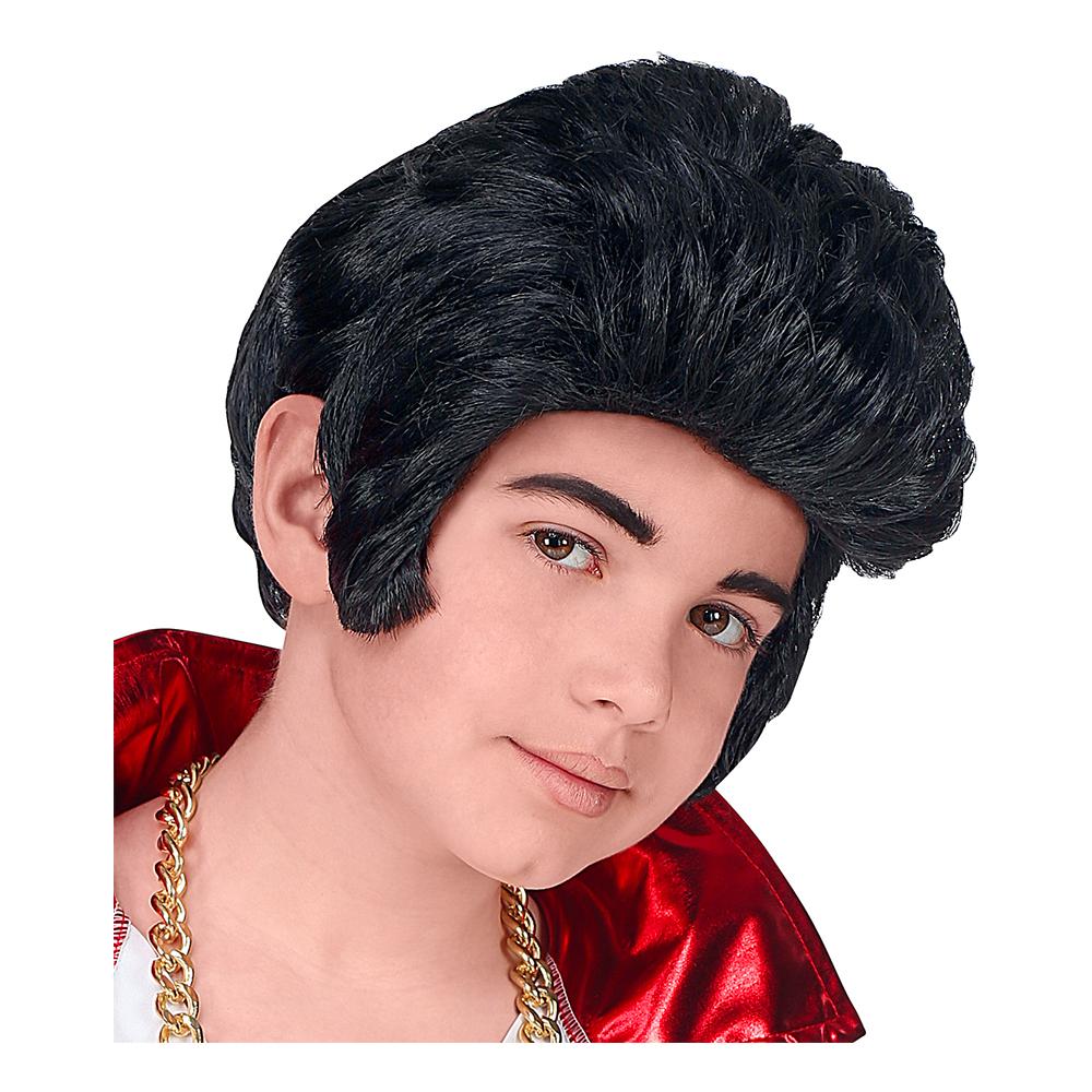 Kung av Rock'n'Roll Barn Peruk