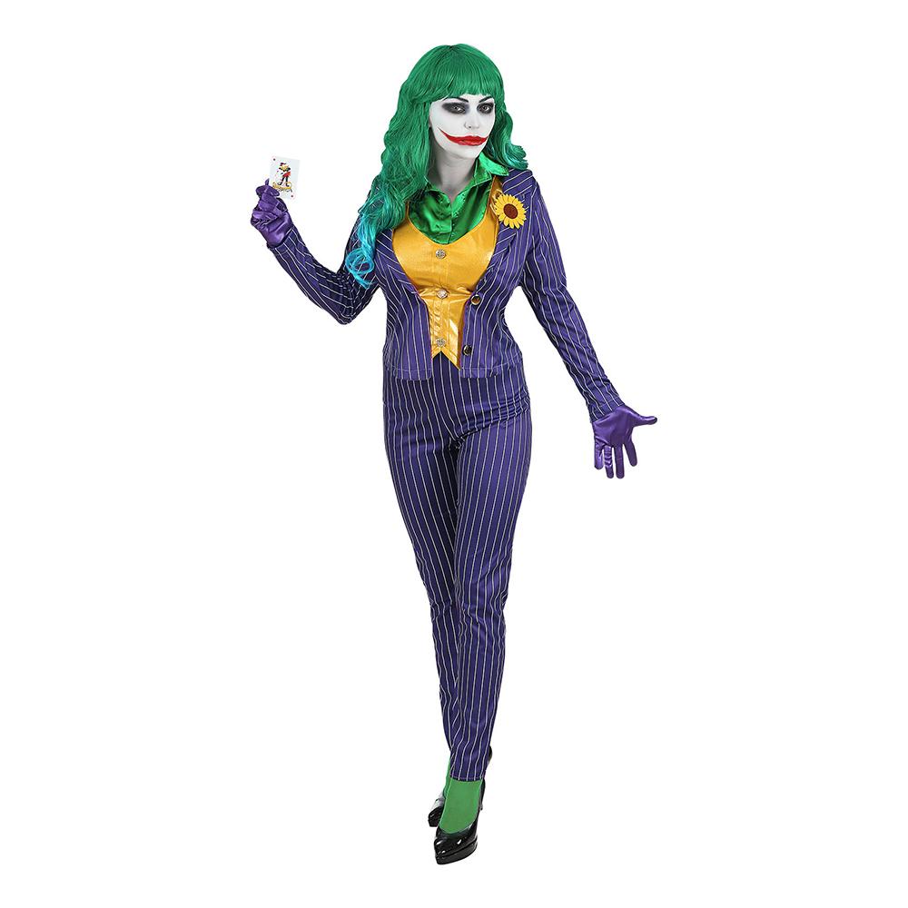 Kvinnlig Joker Maskeraddräkt - Small