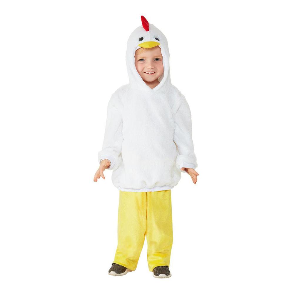 Kyckling Toddler Maskeraddräkt - 1-2 år