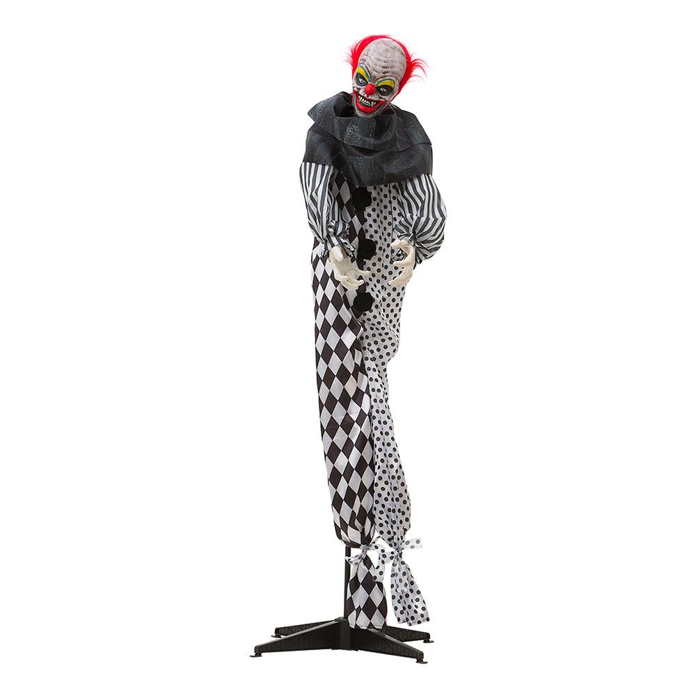 Stående Animerad Clown med Ljus & Ljud