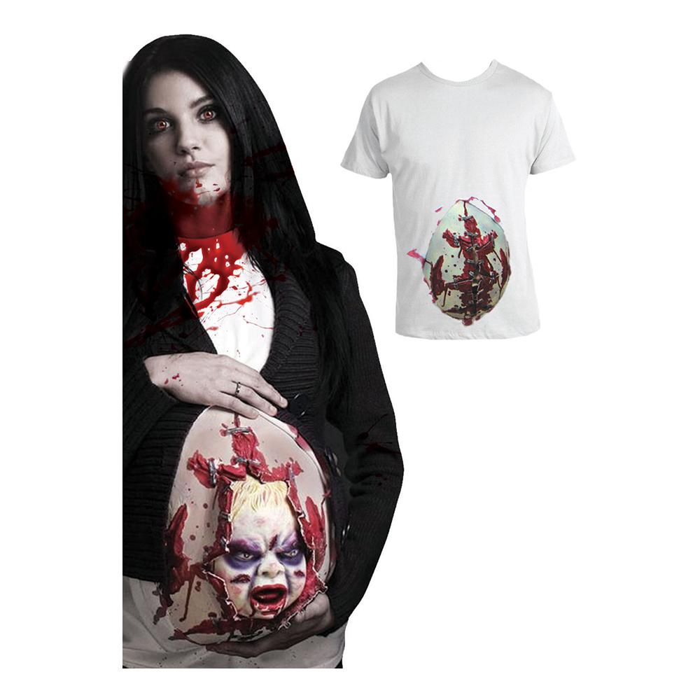 Läskig Docka ur Mage Animerad T-shirt - One size